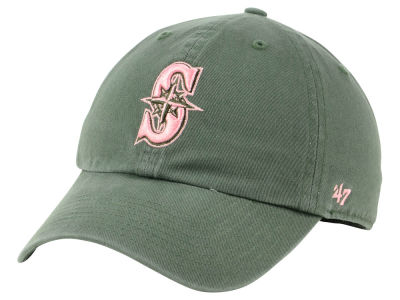 Seattle Mariners '47 MLB Moss Pink '47 CLEAN UP Cap