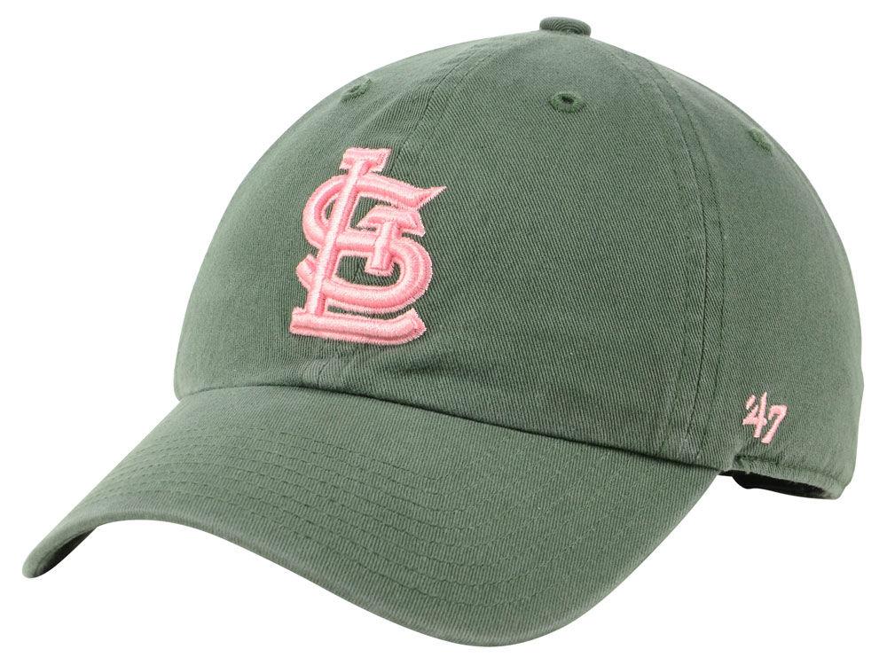 hot sale online d0c3b 5cb21 ... canada st. louis cardinals 47 mlb moss pink 47 clean up cap c8647 68d2a