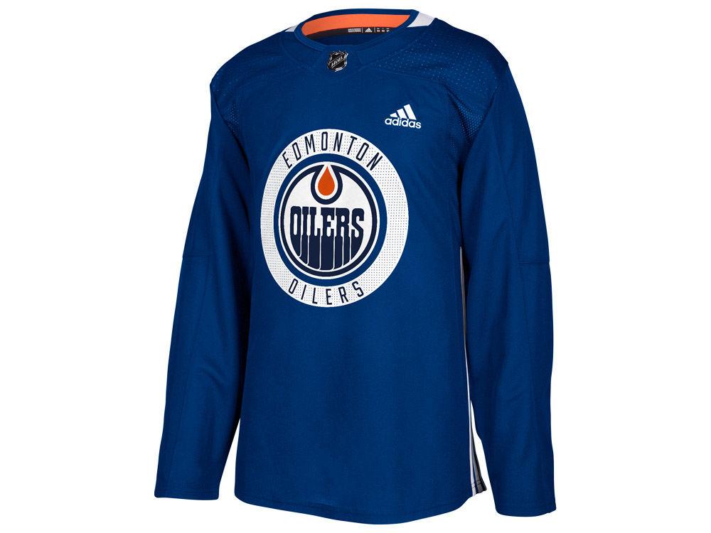 Edmonton Oilers adidas NHL Men s Practice Jersey  dfb1c62d4a4