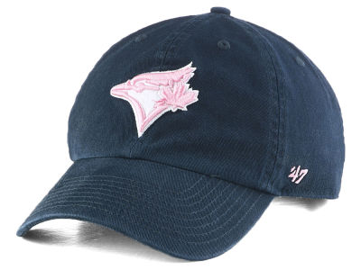 Toronto Blue Jays '47 MLB Navy Pink CLEAN UP Cap