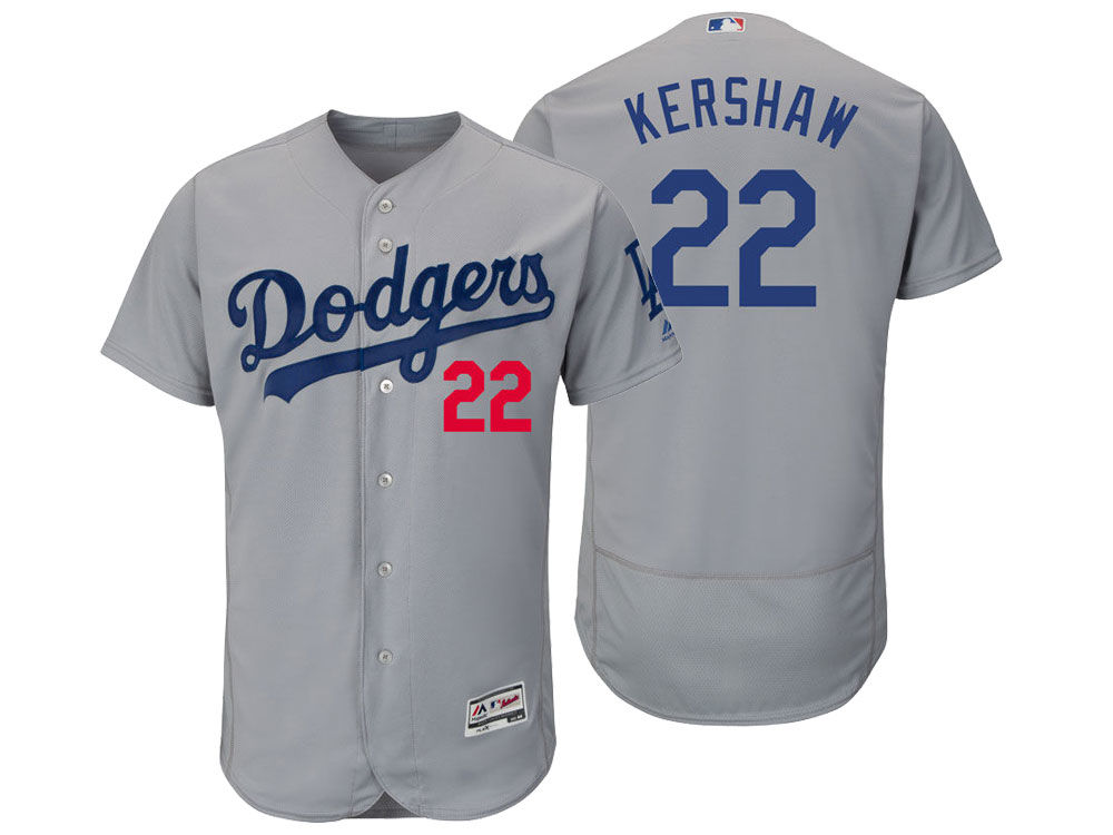 c3fc2ee93 Los Angeles Dodgers Clayton Kershaw Majestic MLB Men s Flexbase On-Field  Player Jersey