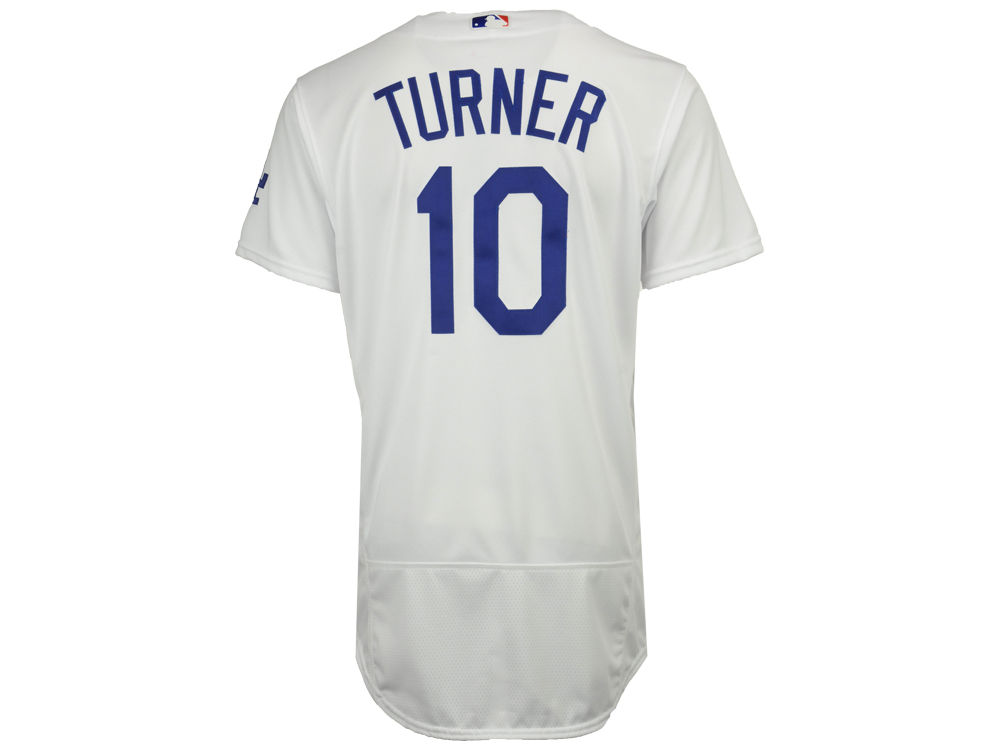 Los Angeles Dodgers Justin Turner Majestic MLB Men s Flexbase On-Field  Player Jersey  e9ee4c307ec