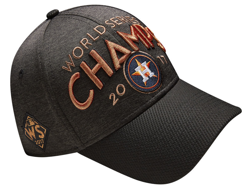 Houston Astros New Era 2017 MLB Youth World Series Locker Room Cap