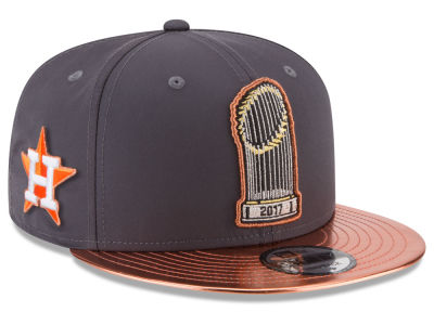 Houston Astros New Era 2017 MLB World Series Parade 9FIFTY Snapback Cap