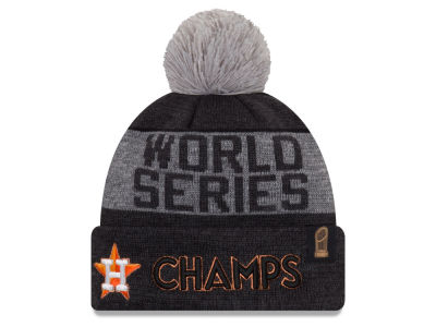 Houston Astros New Era 2017 MLB World Series Locker Room Knit