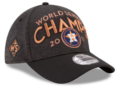 Houston Astros New Era 2017 MLB World Series Locker Room Champ Cap
