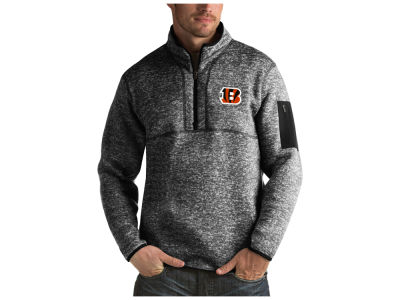 Cincinnati Bengals NFL Men's Fortune Quarter Zip