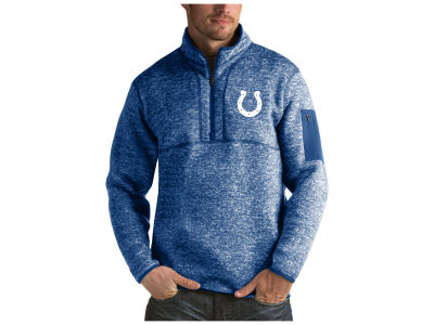 Indianapolis Colts Antigua NFL Men's Fortune Quarter Zip