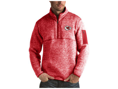 Kansas City Chiefs Antigua NFL Men's Fortune Quarter Zip