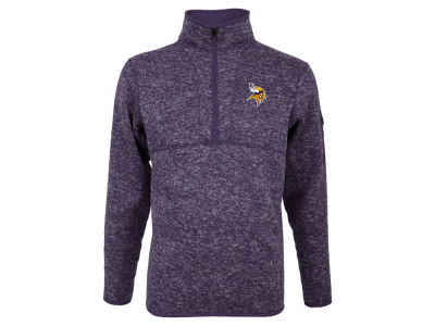 Minnesota Vikings Antigua NFL Men's Fortune Quarter Zip