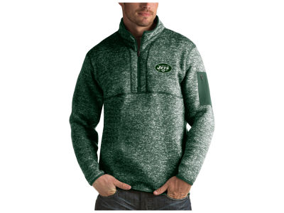 New York Jets Antigua NFL Men's Fortune Quarter Zip