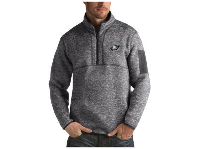 Philadelphia Eagles Antigua NFL Men's Fortune Quarter Zip