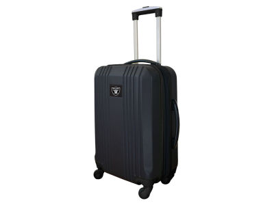 Oakland Raiders Luggage Carry-on 21in Hardcase Two-Tone Spinner V