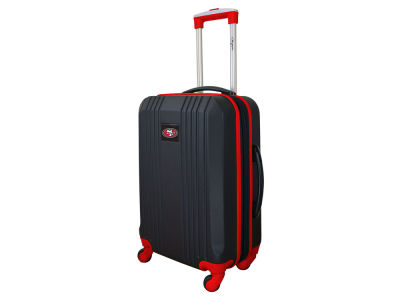 San Francisco 49ers Luggage Carry-on 21in Hardcase Two-Tone Spinner V