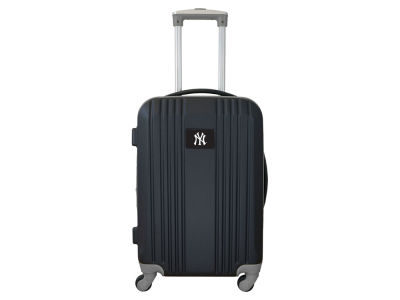 New York Yankees Mojo Luggage Carry-on 21in Hardcase Two-Tone Spinner