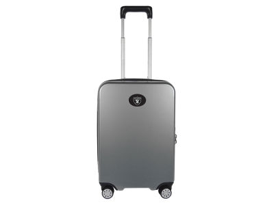 Oakland Raiders Luggage Carry-on 22in Hardcase Spinner