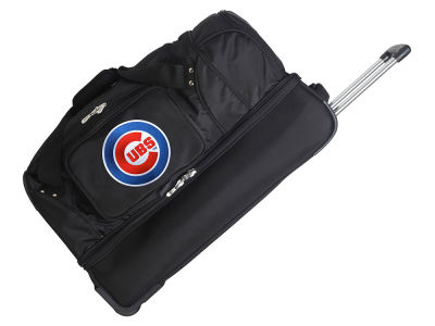 Chicago Cubs Mojo 27in Wheeled Duffel Bag