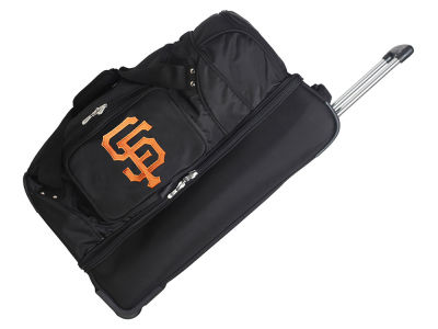 San Francisco Giants 27in Wheeled Duffel Bag V