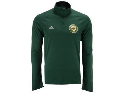 Minnesota Wild adidas NHL Men's Left Defenseman Quarter Zip Pullover