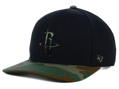 Houston Rockets '47 NBA Caster Camo '47 MVP Cap