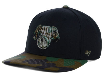New York Knicks '47 NBA Caster Camo '47 MVP Cap