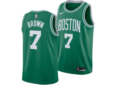 Boston Celtics Jaylen Brown Nike NBA Men's Icon Swingman Jersey