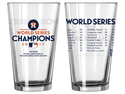 Houston Astros 16oz Roster Pint - EVENT