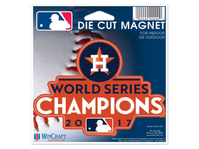 Houston Astros Die Cut Magnet
