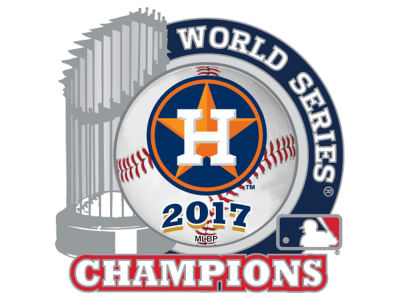 Houston Astros Event Trophy Pin