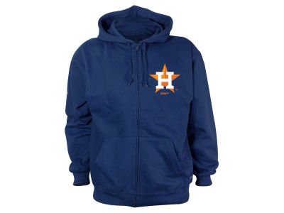 Houston Astros MLB Men's World Series Full Zip Fleece Hoodie