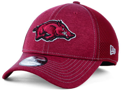 Arkansas Razorbacks New Era NCAA Classic Shade Neo 39THIRTY Cap