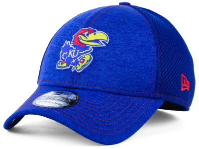 Kansas Jayhawks New Era NCAA Classic Shade Neo 39THIRTY Cap