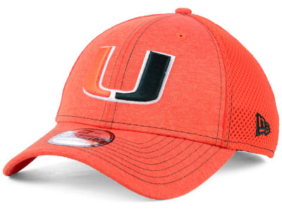Miami Hurricanes New Era NCAA Classic Shade Neo 39THIRTY Cap