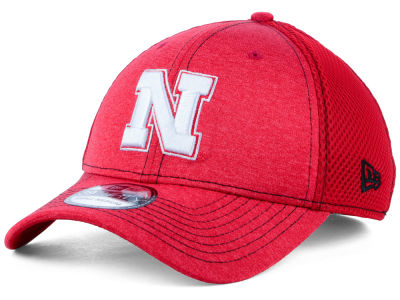 Nebraska Cornhuskers New Era NCAA Classic Shade Neo 39THIRTY Cap