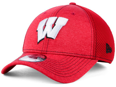 Wisconsin Badgers New Era NCAA Classic Shade Neo 39THIRTY Cap