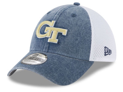 Georgia-Tech New Era NCAA Washed Neo 39THIRTY Cap