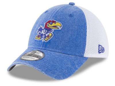 Kansas Jayhawks New Era NCAA Washed Neo 39THIRTY Cap