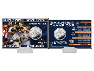 Houston Astros Coin Card-EVENT
