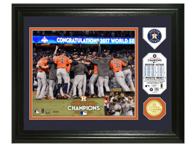 Houston Astros Event Photo Mint Coin Banner