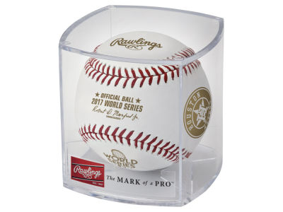 Houston Astros Official Baseball in Cube - Event