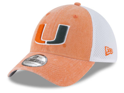 Miami Hurricanes New Era NCAA Washed Neo 39THIRTY Cap