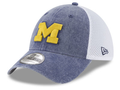 Michigan Wolverines New Era NCAA Washed Neo 39THIRTY Cap