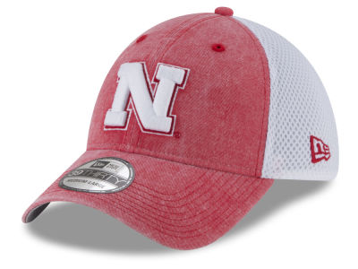 Nebraska Cornhuskers New Era NCAA Washed Neo 39THIRTY Cap