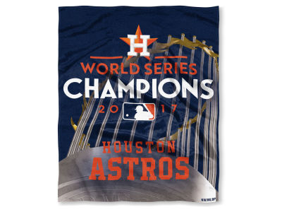 Houston Astros Event Plush Throw 50x60