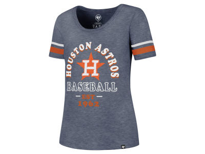 Houston Astros '47 MLB Women's Fantasy Scoop T-Shirt