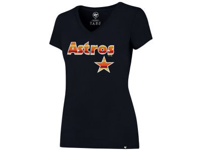 Houston Astros '47 MLB Women's Coop Logo T-Shirt