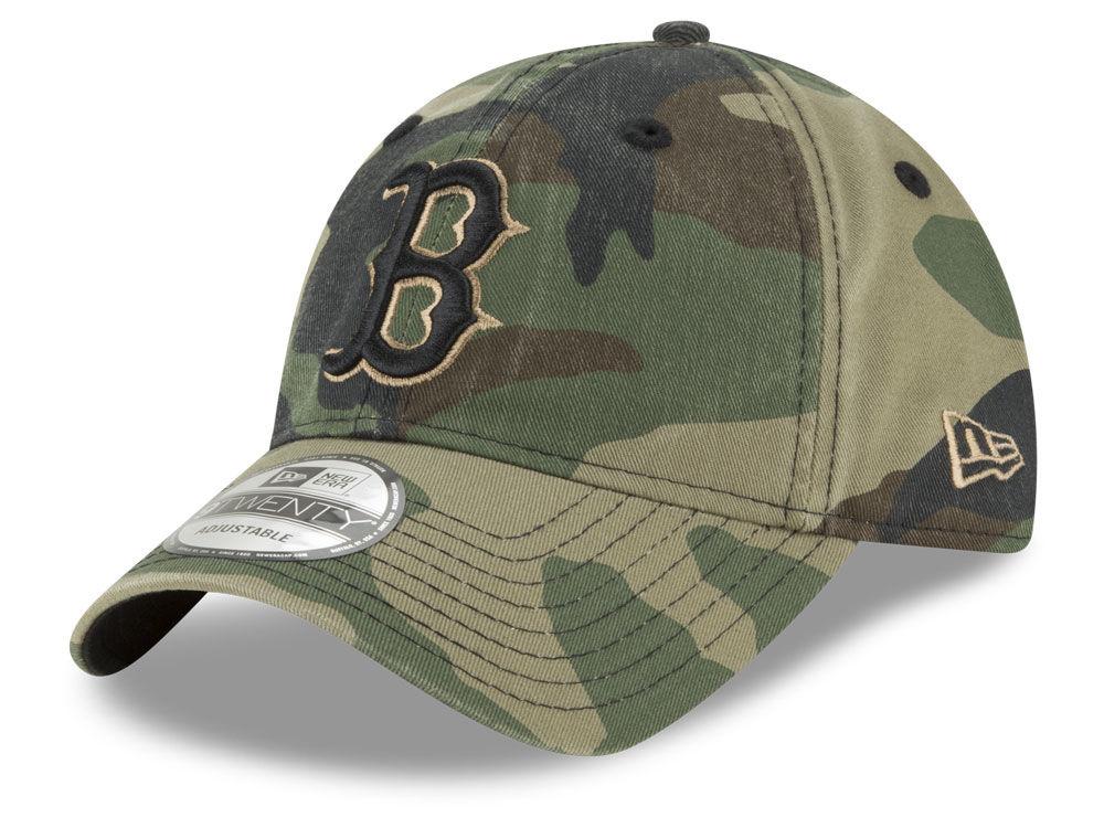 Boston Red Sox New Era MLB Camo Core Classic 9TWENTY Cap  ec20d451239