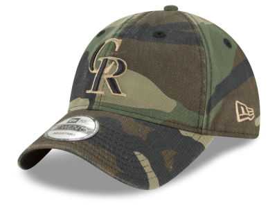 Colorado Rockies New Era MLB Camo Core Classic 9TWENTY Cap