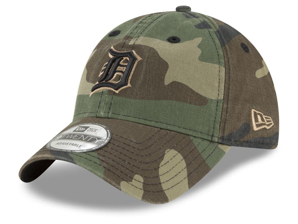 Detroit Tigers New Era MLB Camo Core Classic 9TWENTY Cap  df6b96562da