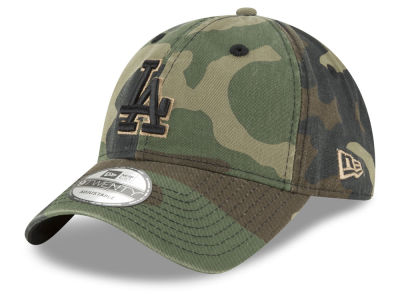 Los Angeles Dodgers New Era MLB Camo Core Classic 9TWENTY Cap